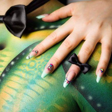 kunstnagel acryl nail art